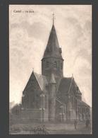 Kastel / Castel - De Kerk - Uitgever A. Huyghens, Moerzeke - Moerbeke-Waas
