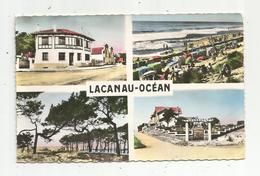 Cp, 33 , LACANAU - OCEAN ,multi Vues ,voyagée - Autres Communes