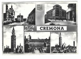 1751 - CREMONA 5 VEDUTE 1962 - Cremona