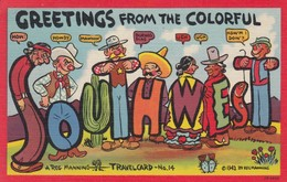 Native Americans ; Greetings From The SOUTHWEST , 30-40s - Indianer