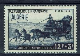French Algeria, Stamp Day, 1952, MNH VF - Neufs