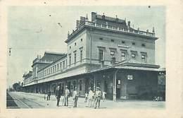 Pays Div-ref W259- Croatie - Croatia - Zagreb - Gare Ligne De Chemin De Fer  - - Kroatië