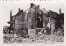 PHOTO ORIGINALE 39 / 45 WW2 FRANCE AMIENS LA VILLE EN RUINES - Guerra, Militari