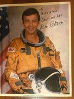 Donald H Peterson NASA Astronaut Photo Autograph Hand Signed Authentic 20 X 25cm - Fotos Dedicadas