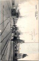 LEYSELE - Arrêt Du Tram - Tramway - Chemin De Fer - TRANSPORT- Carte Réparée Carte Timbre Coupé - Alveringem
