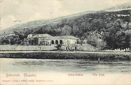 Pays Div-ref W258- Croatie - Croatia - Dubrovnik - Ragusa - Rieka Ombla Villa Papi -  - - Kroatië