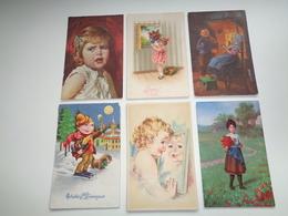 Enfants ( 4306 )  Enfant  Kinderen  Kind  -  Lot De 6 Cartes Postales    Lot Van 6 Postkaarten - Enfants