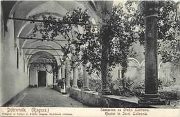 Pays Div-ref W257- Croatie - Croatia - Dubrovnik - Ragusa - Kloster In Insel Lakroma   - - Kroatië