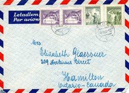 TCHECOSLOVAQUIE. N°755 De 1954 Sur Enveloppe Ayant Circulé. Infirmière. - Geneeskunde