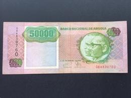 ANGOLA P132 50000 KWANZAS 1991 VF - Angola