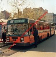 Bus Antwerpen-Boom-Rumst-Mechelen In April 1990 - Photo 15x15cm - Rooseveltplaats Antwerpen Van Hool - Automobiles