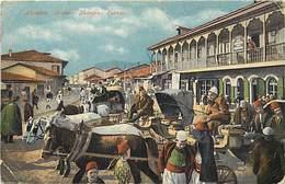 Pays Div-ref W246- Albanie - /etat De La Carte : Leger Pli Sur Chaque Coin - - Albanië
