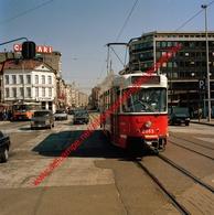 Tram 24 Silsburg - Zuidstation In April 1990 - Photo 15x15cm - Franklin Rooseveltplaats Antwerpen - Automobiles