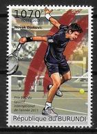 BURUNDI    N° 1410   * *   Tennis Novak Djokovic - Tennis