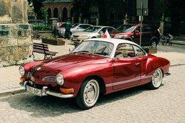 Volkswagen Karmann Ghia  -  15 X 10 Cms PHOTO - Voitures De Tourisme
