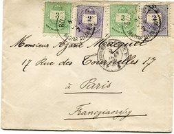HONGRIE LETTRE POUR LA FRANCE - Lettres & Documents