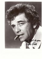 Peter Falk Actor Photo Autograph Hand Signed Authentic 20 X 25 Cm - Fotos Dedicadas