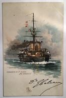 30166 Corazzata Di Prima Classe Re Umberto - Warships