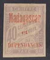 Madagascar - 1896 - 40c Timbres-Taxe Yv.5 - MH - Madagascar (1889-1960)
