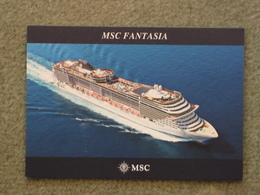 MSC FANTASIA - Steamers