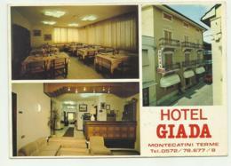 MONTECATINI TERME - HOTEL GIADA - NV  FG - Pistoia