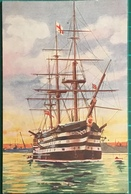 H.M.S. Victory In Portsmouth Harbour - Sailing Vessels