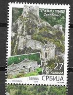 SERBIA, 2019, MNH, TOURISM, LANDSCAPES, 1v - Holidays & Tourism