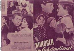 Neues Film-Programm  , (1959 ), MIKOSCH Im Geheimdienst  , Nr. 1265 - Fanartikel
