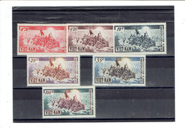 VIET NAM SUD - ASIE - SERIE N°32/37 - X - TTB - 1955 - Vietnam