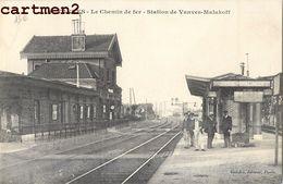 VANVES LE CHEMIN DE FER STATIOIN DE VANVES-MALAKOFF 92 - Vanves
