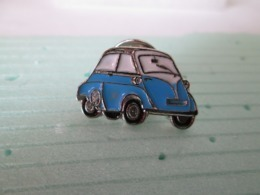 PIN'S    BMW  ISETTA  BLEU    Email A Froid - BMW