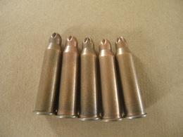 5 Cartouches à Blanc Cal 7,62X54R Mosin Nagant - Equipment
