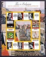 Blok 175 This Is Belgium Boek En Literatuur Ongetand 2009 - Non Dentelés