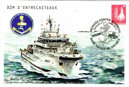 Nouvelle Caledonie New Caledonia Cachet Commermoratif Journee Portes Ouverte D'entrecasteaux B2M Base Navale Noumea 2016 - Nouvelle-Calédonie