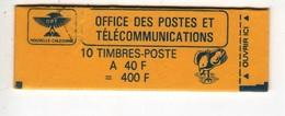 Nouvelle-Calédonie > Carnet Cagou 10 Fois 40 Fr N° 559 - Booklets