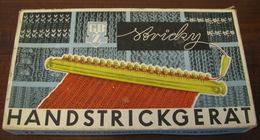 USSR German Democratic Republic Table Game Shtrikki On Russian Language Vintage - Group Games, Parlour Games