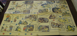 USSR Soviet Russia Table Game The Adventures Of Cipollino Playing Field On Russian Language Vintage - Group Games, Parlour Games