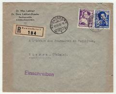 Suisse // Schweiz // Switzerland //  Pro-Juventute //  Lettre Recommandée Pour Sierre Le 19.12.1936 - Pro Juventute