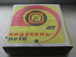 USSR Soviet Russia Table Game Casino Lotto Carousel Odessa On Russian Language Vintage Rare - Group Games, Parlour Games