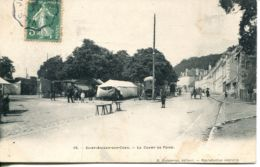 N°179 T -cpa Saint Aignan Sur Cher -le Champ De Foire- - Saint Aignan