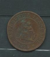 INDOCHINE 1 CENT DE 1894 A    Laupi11401 - Kolonien