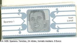 Vitolas Spanera. Tenistas. 24 Vit. FM. Ref. 14-1499 - Vitolas (Anillas De Puros)