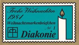 BRD DW-MH 1a Mit 6x 1233, Postfrisch **, Privates Markenhefchen Des Diakonischen Werkes Der EKiD 1984 Weihnachten - [7] Repubblica Federale