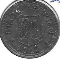 *notgeld Kempten 50 Pfennig  1917 Zn   242.2a - [ 2] 1871-1918 : Imperio Alemán