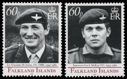 Falkland 2006 - Mi-Nr. 972-973 ** - MNH - Viktoriakreuz - Falklandinseln