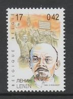 TIMBRE NEUF DE BELGIQUE - LENINE N° Y&T 2861 - Lenin