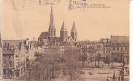 Gand - Le Marché Au Vendredi Et L'Église St. Jacques - Gent
