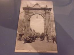 ITALIE SICILE CASTELVETRANO PORTA GARIBALDI VOITURE - Other Cities