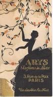 """Carte Parfumée - ARYS Parfuns De Luxe - 3, Rue De La Paix à Paris - """" Un Jardin La Nuit """"- Années 1950 - Vintage (until 1960)"""