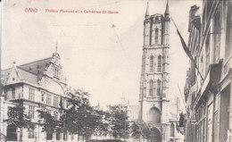 Gand - Théâtre Flamand Et La Cathédrale St. Bavon - Gent